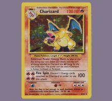 Charizard Pokemon Card Kids Clothes