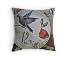 A Partridge In A Pear Tree Throw Pillow