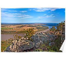 View from Mount Petit Jean Poster