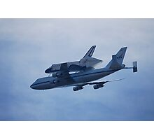 """Space Shuttle """"Endeavour"""" Flyover Photographic Print"""
