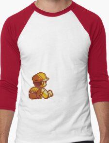 Red from Pokemon (Ash) Men's Baseball ¾ T-Shirt