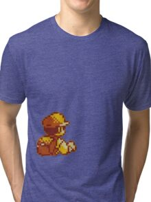 Red from Pokemon (Ash) Tri-blend T-Shirt