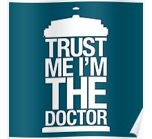 Trust Me I'm The Doctor - Doctor Who Poster