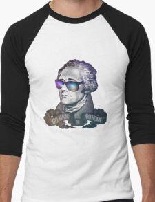 Hamilton: Go Ham or Go Home! Men's Baseball ¾ T-Shirt