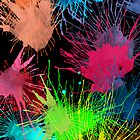 Paint Splatters by TinaGraphics
