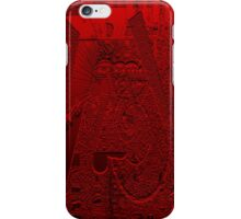 red attack iPhone Case/Skin