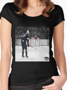 TJ Oshie Women's Fitted Scoop T-Shirt