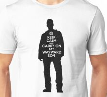 Dean Winchester - Keep Calm and Carry On My Wayward Son Unisex T-Shirt
