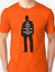 Dean Winchester - Keep Calm and Carry On My Wayward Son T-Shirt
