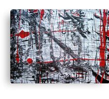 Red and Black 2 Canvas Print