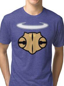 Shedinja Pokemon Head and Halo Tri-blend T-Shirt