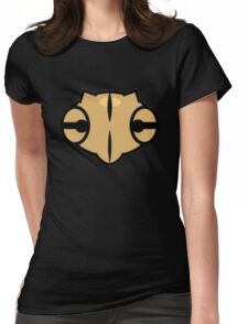 Shedinja Pokemon Head Womens Fitted T-Shirt