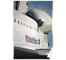 """Space Shuttle """"Endeavour"""" Transit Poster"""