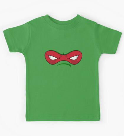 Teenage Mutant Ninja Turtles - RAPHAEL MASK Kids Tee