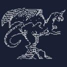 ASCII Dragon by arginal