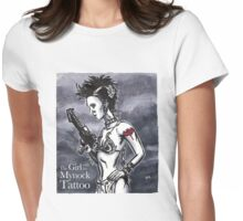 The Girl with the Mynock Tattoo Womens Fitted T-Shirt