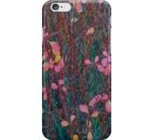 Pink And Green Autumn iPhone Case/Skin