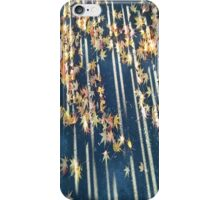 Blue And Yellow Autumn iPhone Case/Skin