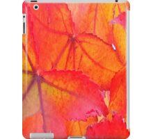 Bright Orange Autumn iPad Case/Skin