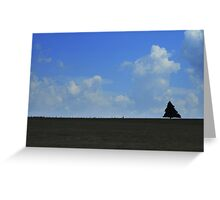 I Stand Alone Greeting Card