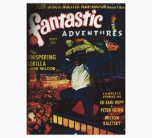 Fantastic Adventures Magazine May by babydollchic