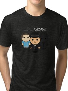 Facade - Black Box Films: BOXIES Tri-blend T-Shirt