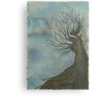 The First Tree Canvas Print