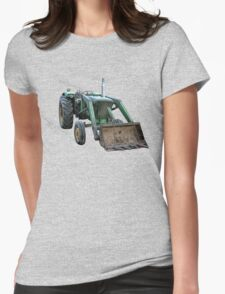 Tractor Womens Fitted T-Shirt