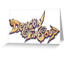 Dragon Fin Soup Greeting Card