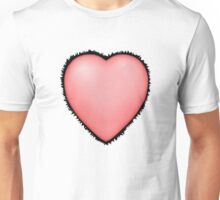 Big Pink Fury Love Heart Unisex T-Shirt