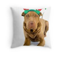 Doggy Deer Throw Pillow