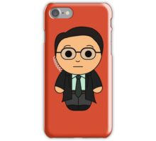 Agent G (Tangled Wire) - Black Box Films: BOXIES iPhone Case/Skin