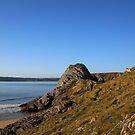 Three Cliffs by Pippa Carvell