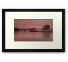The Bridge At Lazonby Framed Print