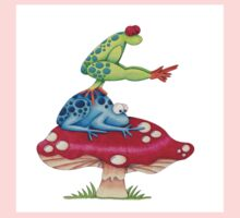 Leap Frog On a ToadStool One Piece - Short Sleeve