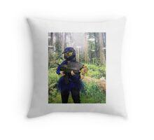 Tutu Caboose Throw Pillow
