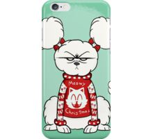 Don't Fluff with Me This Christmas iPhone Case/Skin