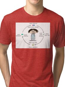Medicinal Cures and Causes Tri-blend T-Shirt