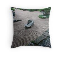 Zen Garden #5 - Drôme - France Throw Pillow