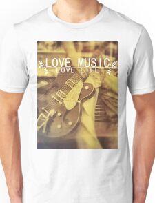 Love Music, Love Life Unisex T-Shirt