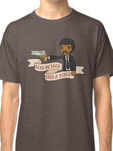 Pulp Fiction - Does He Look Like A Bitch Classic T-Shirt