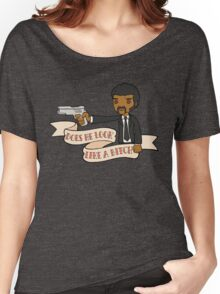 Pulp Fiction - Does He Look Like A Bitch Women's Relaxed Fit T-Shirt