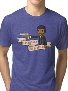 Pulp Fiction - Does He Look Like A Bitch Tri-blend T-Shirt