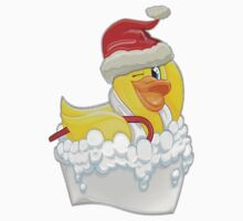 Happy Christmas Duck Kids Clothes