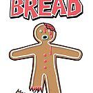 The Walking Dead GingerBread Man Zombie by Creative Spectator
