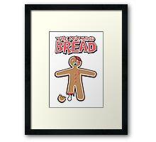 The Walking Dead GingerBread Man Zombie Framed Print