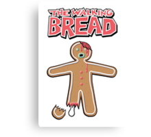 The Walking Dead GingerBread Man Zombie Canvas Print