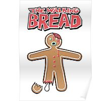 The Walking Dead GingerBread Man Zombie Poster