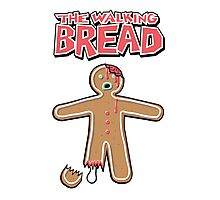 The Walking Dead GingerBread Man Zombie Photographic Print