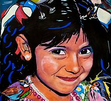 Indian Girl by Pascal and Isabella Inard